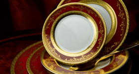 In the Far East, as in China, porcelain began to be made as early as the 7th century AD