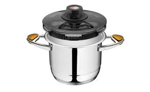 With one Syncro-Clik you can you have a whole range of pressure cookers.